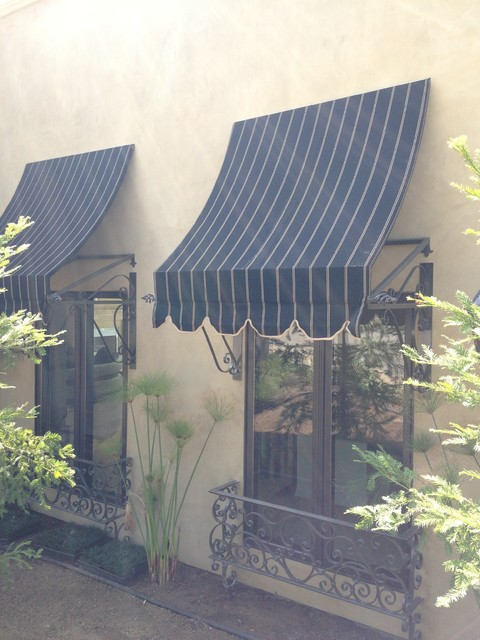 Fancy Spear Awnings  los angeles  by Calshades and Awnings Inc