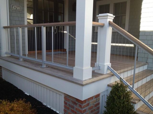 Fairman Residence  Vertical Cable Railing  Modern  Deck