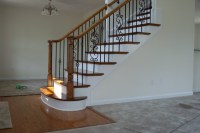 Stairs, Trim, decks, and custom carpentry traditional ...