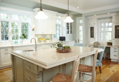 Lake House Kitchen Decor
