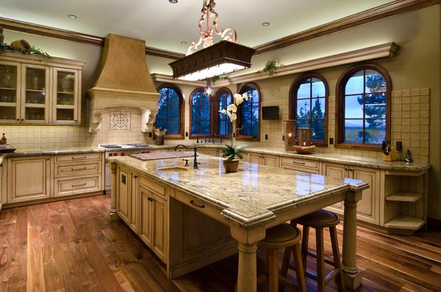 Pines Mediterranean Kitchen Portland Homeland Design Llc