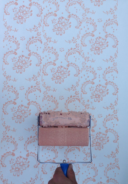 NotWallpaper Patterned Paint Roller, Floral Paisley
