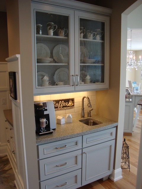 Coffee bar  Eclectic  Kitchen  other metro  by Homes