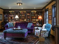 Old English Library - Traditional - Home Office - portland ...