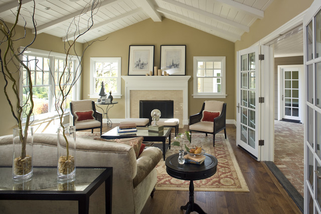 paint colors for living rooms with vaulted ceilings potterybarn room lafayette residence one