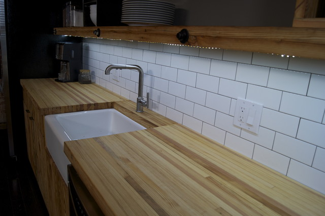 LED Light Strip Under Shelves Kitchen  Contemporary