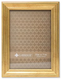 5x7 Sutter Burnished Gold Picture Frame - Traditional ...