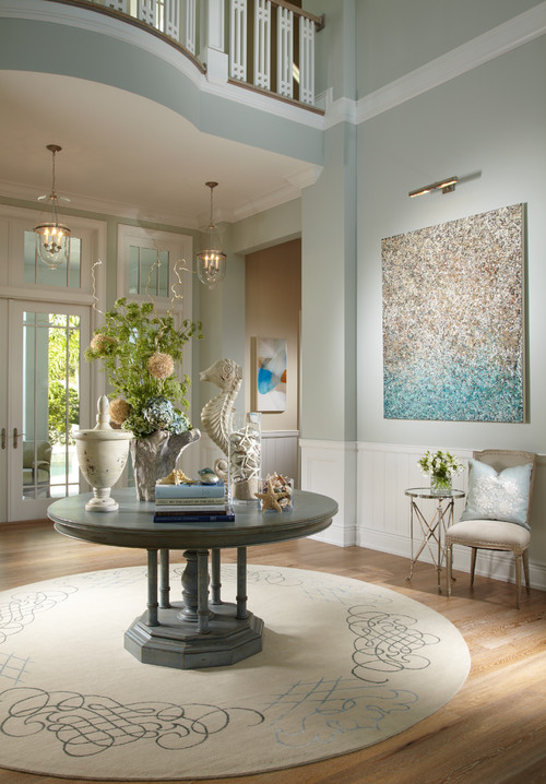 Remodelaholic favorite entryway and foyer paint colors for Tropical interior paint colors