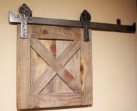 Ponderosa Forge Barn Door Track System - Rustic - Barn ...