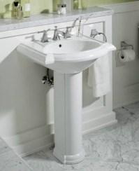 Bathrooms With Pedestal Sinks | Interior Decorating