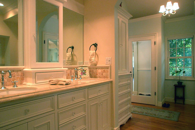 Beadboard Cottage Master Bath Remodel  Traditional