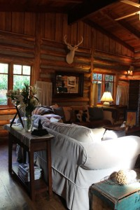 Adirondack Style Lodge - Traditional - Living Room - by ...