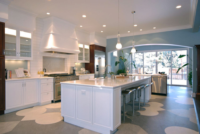 modern kitchen by Debra Toney