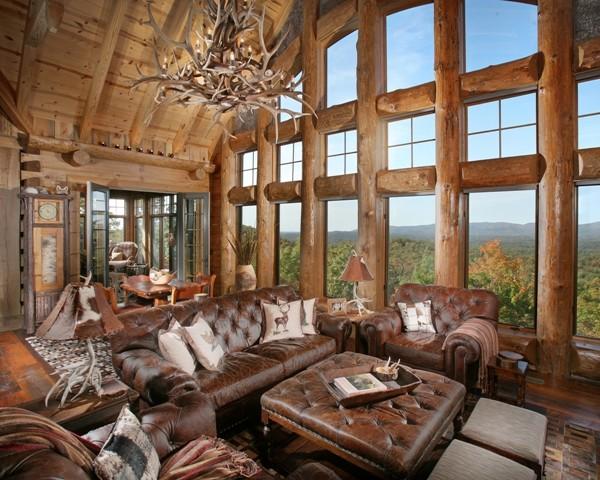 Wild Turkey Lodge  Traditional  Living Room  atlanta