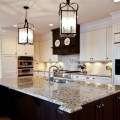 Brown and cream kitchen traditional kitchen atlanta by keri