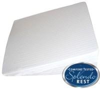 Splendorest Gel Memory Foam Bed Wedge Incline Pillow