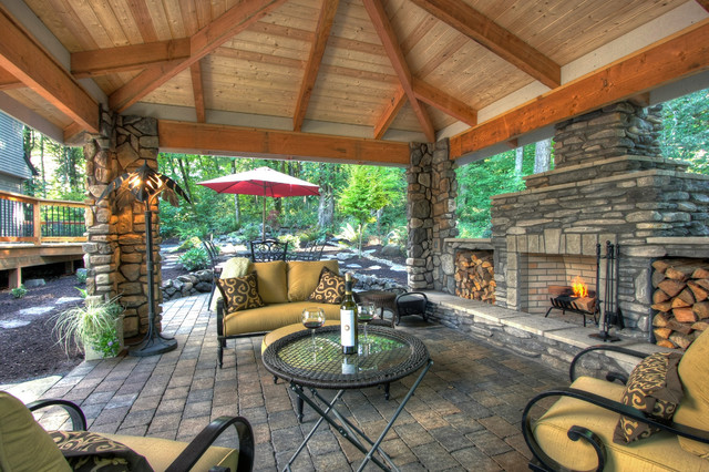 Private Paradise Portland Landscaping traditional patio