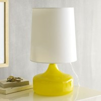 Perch Table Lamp, Yellow - Modern - Table Lamps - by West Elm