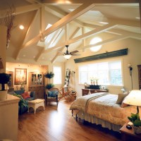 Classic Home with Vaulted Ceilings - Traditional - Bedroom ...