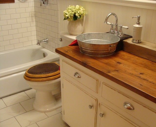 Recycled bathroom vanities with sinks for Recycled bathroom sinks