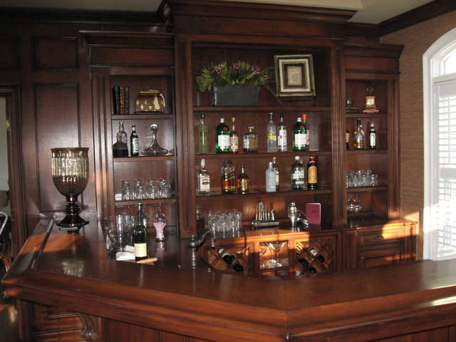 Bar Area  Traditional  Home Bar  new york  by Top