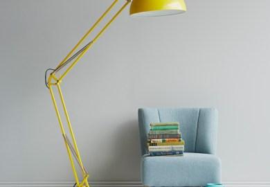 Yellow Lamp Modern