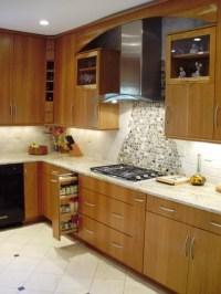 Earthy Kitchen Remodel - Modern - Kitchen - other metro ...