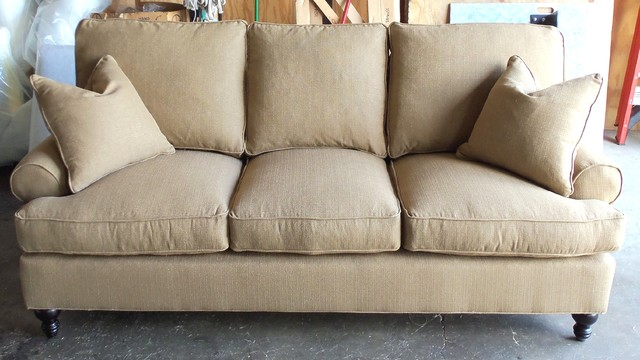 sofa and couches difference brown fabric living room bernhardt...need to get something else it seems