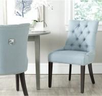 Safavieh Harlow Light Blue Ring Chair (Set of 2