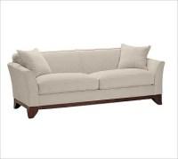 Greenwich Upholstered Sofa, Down-Blend Wrap Cushions ...
