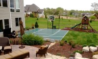 Outdoor Game Courts for all Sports in Small Backyard Space ...