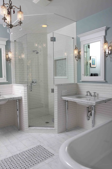 Vintage Bathroom  Traditional  Bathroom  chicago  by Normandy Remodeling