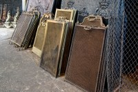 Antique fireplace screens - Traditional - Fireplace ...