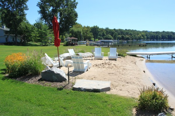 Image result for house lake beach