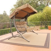 Santa Fe Glider Canopy Swing Set - Traditional - Kids ...