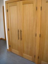 Closet doors (Douglas Fir) - Contemporary - other metro ...