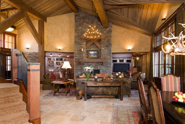 living room clocks next furniture sets uk crosswater ski lodge - traditional ...