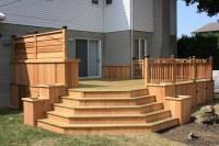 CEDAR&WOOD PATIO DECK - Modern - Deck - montreal - by ...