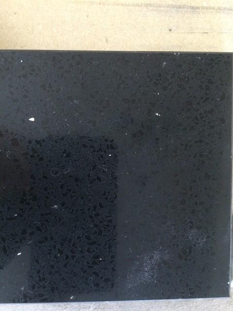 HanStone Obsidian Black Quartz  Kitchen Countertops  new
