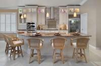 Brown Kitchen - Contemporary - Kitchen - tampa - by KGT ...