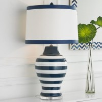 Navy & White Stripe Table Lamp - Lamp Shades - by Shades ...