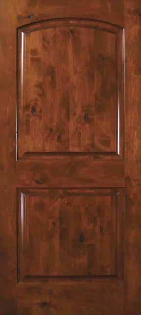 Prehung Exterior Interior Single Door 80 Knotty Alder 2