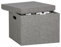 Felt File Box - Contemporary - Filing Cabinets - by CB2