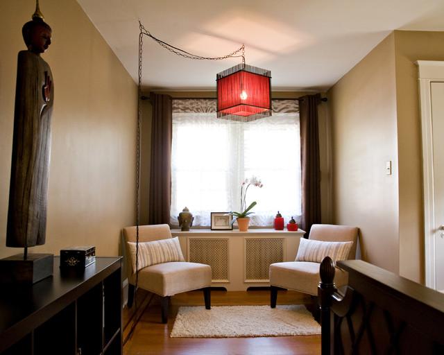 Asian Inspired Master Bedroom