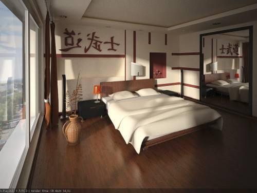 Japanese style bedroom