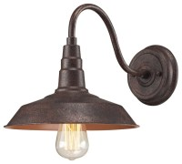 Urban Lodge 1-Light Sconce In Weathered Bronze - Rustic ...