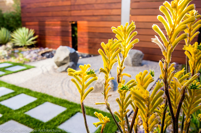 modern zen garden small space design contemporary landscape orange county