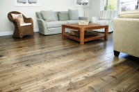 Natural Ash Wood Flooring - Contemporary - Living Room ...
