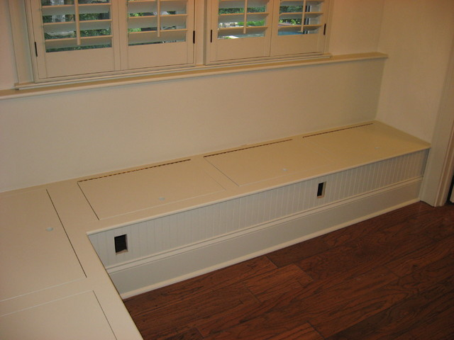 Bench Seating Traditional Kitchen Atlanta By True