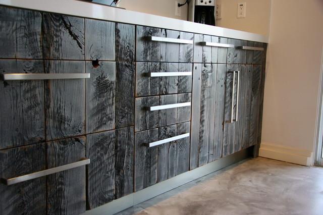Barn Lumber IKEA Kitchen